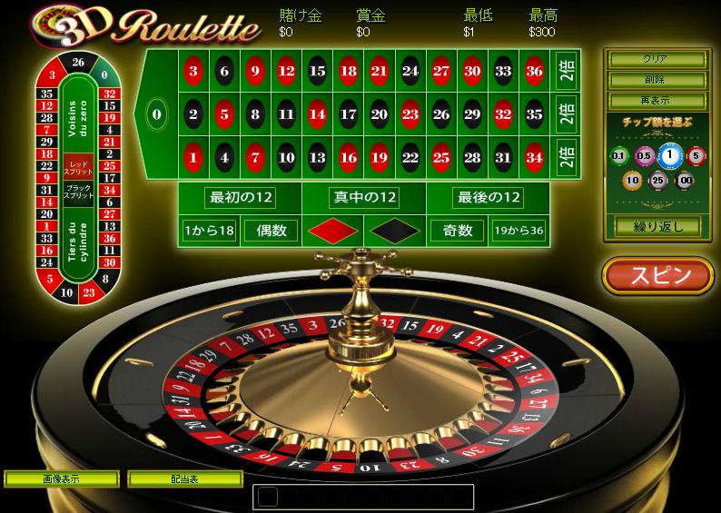 3D-Roulette