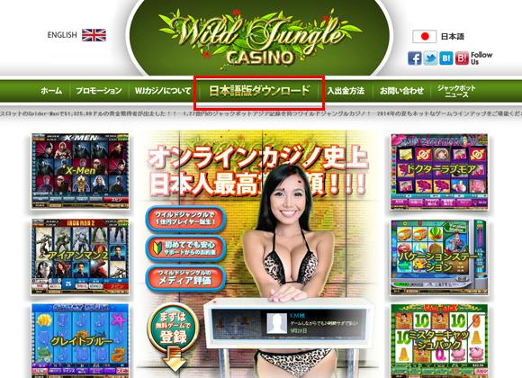 ワイルドジャングルカジノのサポート3